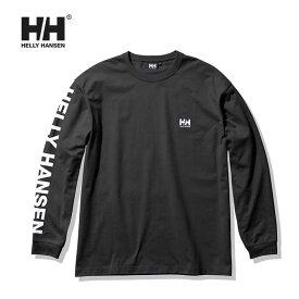 ヘリーハンセン ロンT Helly Hansen [ HE32126 ] L/S LETTER TEE (K) ロングスリーブレターティー 長袖Tシャツ [210415]