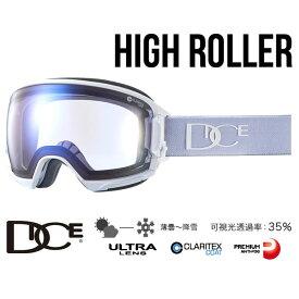 【5%還元店!】【ウルトラレンズ 】ダイス ゴーグル ハイローラー 18-19モデル DICE [ HR84165MAW ] HR U/LPICEd-PAF (MAW) スノーボード スキー goggle [1001]