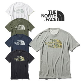 ノースフェイス Tシャツ THE NORTH FACE [ NT31976 ] CAMOFLAGE LOGO T カモフラージュロゴティー 半袖 クルー メンズ [メール便][0130]【Y】【SPS06】
