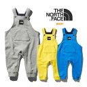 ノースフェイス ベビー オーバーオール THE NORTH FACE [ NBB31964 ] SWEAT LOGO OVERALL スウェットロゴ【出産祝い】…