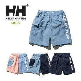 ヘリーハンセン キッズ ウォーターショーツ Helly Hansen [ HJ72000 ] KS LOGO BEACH SHORTS ショートパンツ 水着 海パン 子供 [メール便] [0420]【SPS12】
