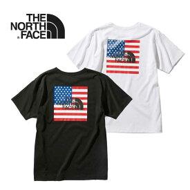 ノースフェイス Tシャツ THE NORTH FACE [ NT32053 ] S/S NATIONAL FLG T ショートスリーブナショナルフラッグティー 半袖 [メール便] [0420]【Y】