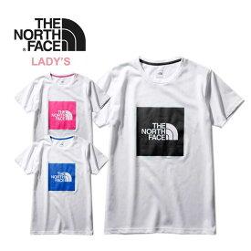 ノースフェイス レディース Tシャツ THE NORTH FACE [ NTW32036 ] S/S BIG SQ LG TEE ショートスリーブビッグスクエアロゴティー 半袖 [メール便] [0420]【SPS12】