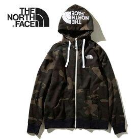 ノースフェイス パーカー THE NORTH FACE [ NT11957 ] NV REVIEW F/Z HOOD (WC) ノベルティリアビューフルジップフーディ 迷彩 カモフラ [0810]