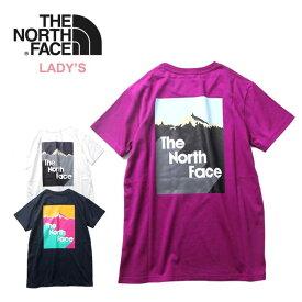 【25日HOODボーナスDAY最大P27倍】ノースフェイス レディース Tシャツ THE NORTH FACE [ NTW32012 ] S/S SNOW MT T [メール便][0705]【SPS09】