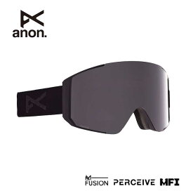 アノン ゴーグル ANON (ASIAN FIT) SYNC SMOKE/PRCV SUN ONYX MFI 215081 スノーボード スキー goggle [200929]