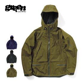 【20日SPUでP最大16倍】グリーンクロージング スノー ジャケット GREEN CLOTHING [ OGA JACKET ] スノーボード スノボ スキー ウェア [201022]