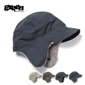 【25日HOODボーナスDAY最大P27倍】グリーンクロージング ボアキャップ GREEN CLOTHING [ BOA CAP ] 帽子 スノーボード スノボ スキー [201022]
