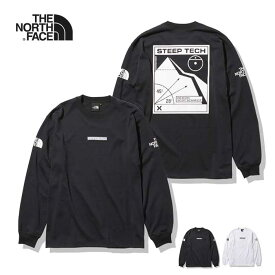 ノースフェイス ロンT THE NORTH FACE [ NT82003 ] STEEP TECH L/S TEE スティープテックロングスリーブティー 長袖Tシャツ ユニセックス [201014]【Y】
