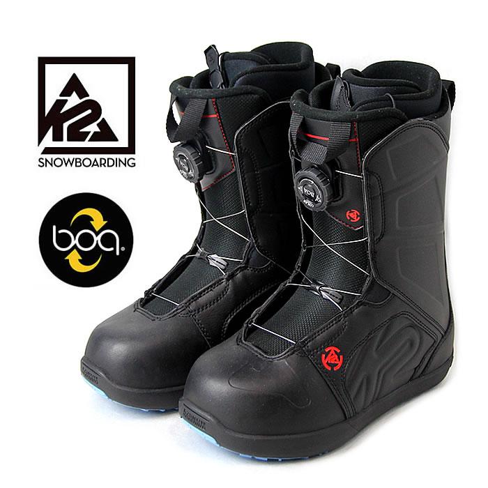 K2 スノーボードブーツ RAIDER RENTAL (BLK) スノボ boots メンズ レディース[1101]
