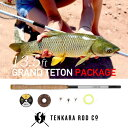 TENKARA ROD Co / テンカラロッド GRAND TETON Package(13.5フィート)【淡水竿】渓流 テンカラ 竿 ロッド フライ 毛…