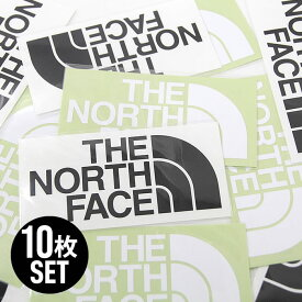 【10枚セット】ノースフェイス カッティングステッカー NN88106 TNF CUTTING STICKER ホワイト×5 ブラック×5 THE NORTH FACE 正規品 [メール便][売れ筋]