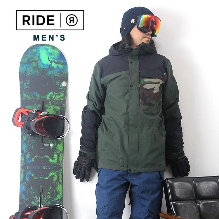 【エントリーでP最大47倍】スノーボード ウェア メンズ ライド 上下セット RIDE [M'S SET-160] スノーボードウェア ジャケット パンツ スノボウェア スキー【SPS】
