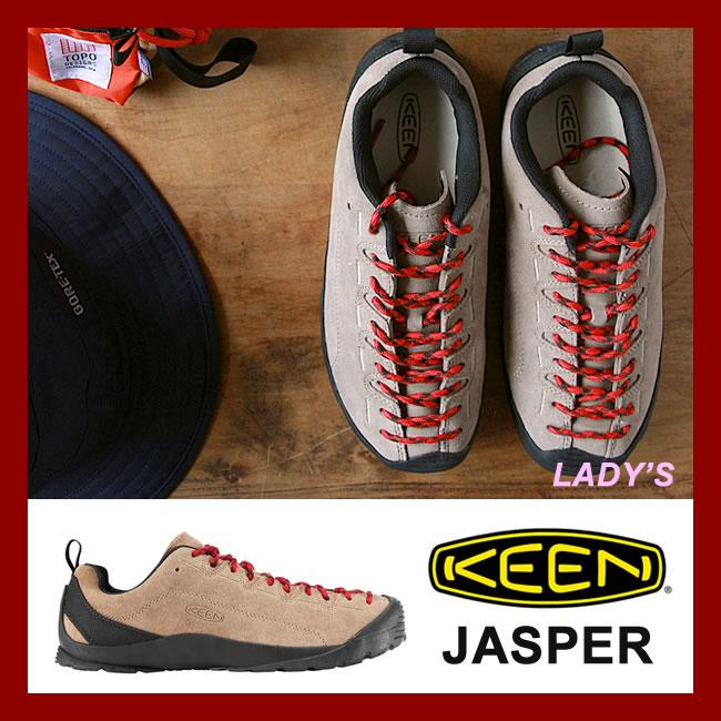 KEEN レディース JASPER [Silver Mink](4347) キーン スニーカー シューズ ジャスパー 送料無料 【クーポン対象】