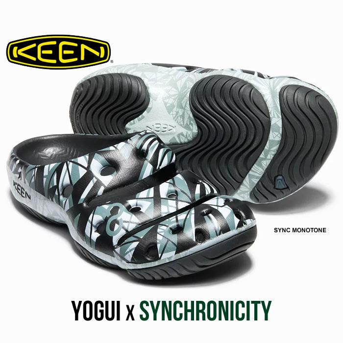 【エントリーでP最大47倍】キーン ヨギ サンダル KEEN [ YOGUI ARTSFULL ] M'S (1018195) コンフォートサンダル SYNCHRONICITY COLLECTION Vol.7[0420]