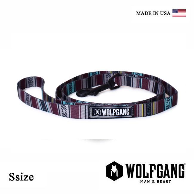 犬 リード WOLFGANG MAN & BEAST ウルフギャング FarWest LEASH 【Ssize/小型犬用】 WL-001-91 ポリエステルリーシュコード [MADE IN USA] おしゃれ 犬の紐(小型犬) リード[メール便対応]