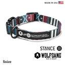 首輪 犬 犬首輪 WOLFGANG MAN & BEAST ウルフギャング STANCE COLLAR 【Ssize/小型犬用】WL-001-70 ポリエステルカラー [MADE IN USA] 首輪