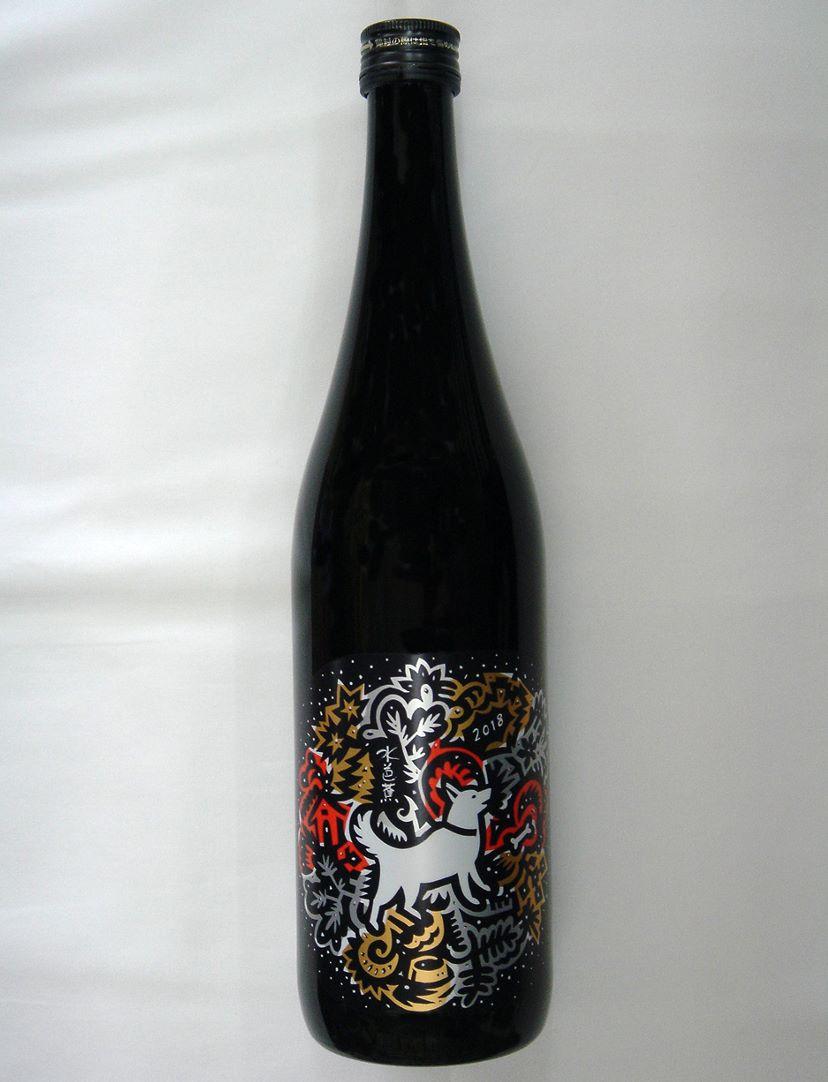 【永井酒造】水芭蕉 純米大吟醸 干支ボトル720ml (群馬県産地酒・川場村)