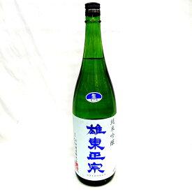 雄東政宗 純米吟醸 夢ささら 無濾過生原酒 1800ml (R2BY)【要冷蔵】【クール便】クーポン