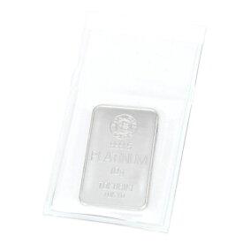 純プラチナ インゴット 10g 徳力本店 プラチナバー Pt999.5 ingot(41113)