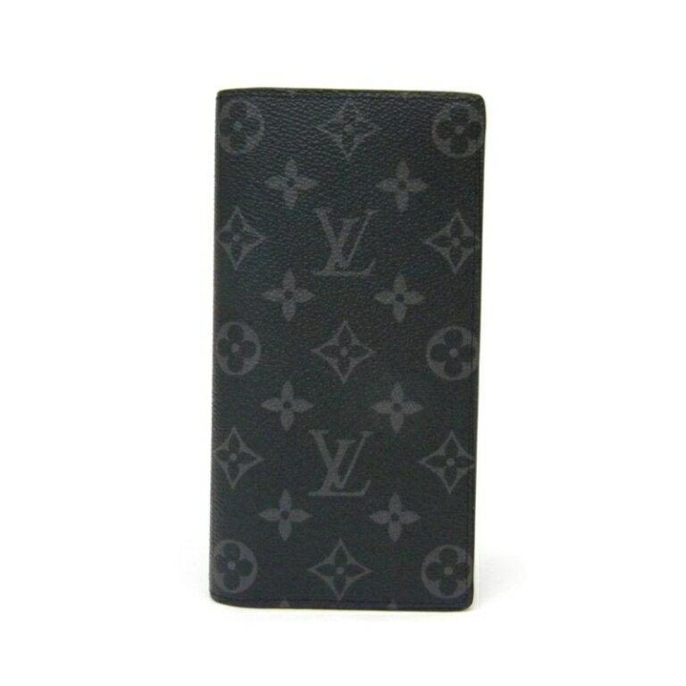 【新品】 ルイヴィトン 長財布 ポルトフォイユ・ブラザ M61697 エクリプス レア (37551) ヴィトン 財布