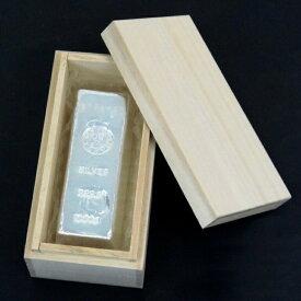 【エントリーでP2倍!】 石福金属興業 純銀 インゴット ingot 1kg 1000g(54958)
