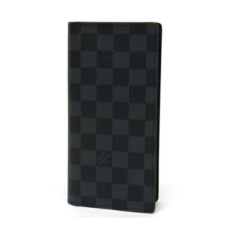 ルイ・ウ゛ィトン 長財布 サイフ ポルトフォイユ・ブラザ N62665 ダミエ・グラフィット(11293)