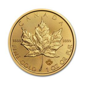 金貨 メイプルリーフ金貨 1oz ランダムイヤー メープルリーフ金貨 1オンス 31.1g 純金(45151)