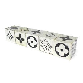 ルイ・ウ゛ィトン ダイスゲーム サイコロ キューブ CUBE GAME シルバー【中古】(17588)