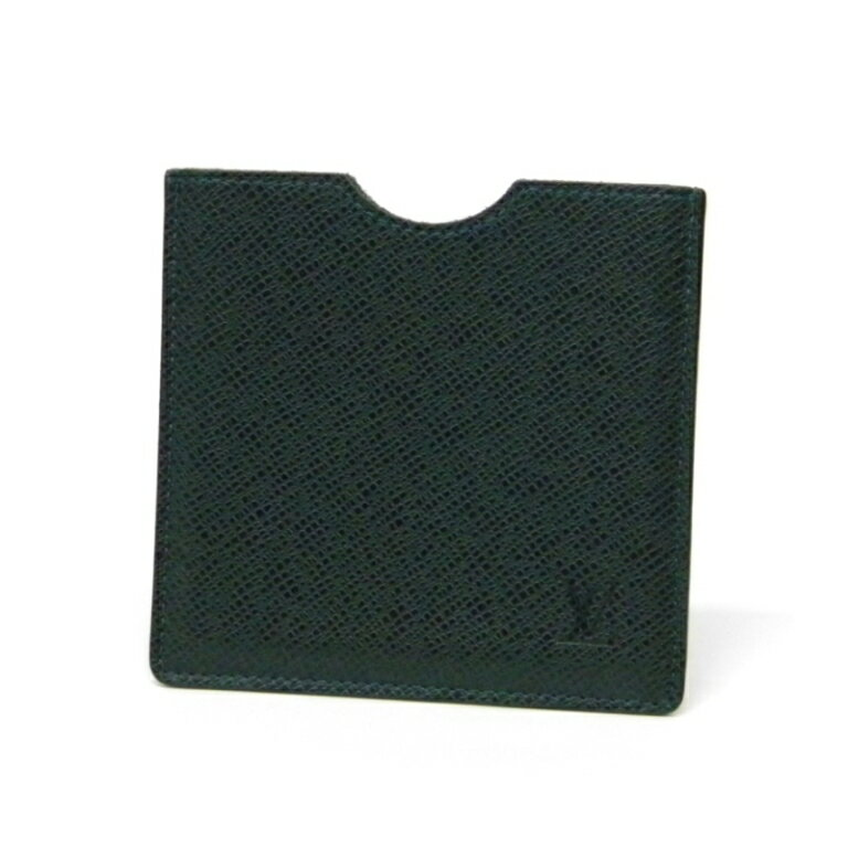 ルイ・ヴィトン フロッピーディスクケース M30344 タイガ エピセア(グリーン) 【中古】(24368)(24368)