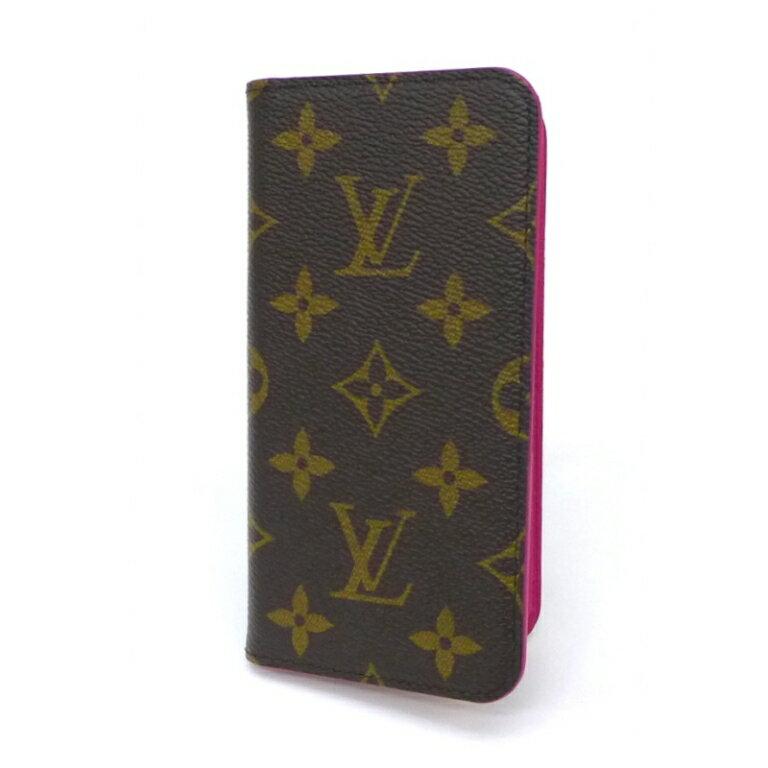【新品】ルイヴィトン iPhone X&XS ケース M63444 モノグラム ローズ ヴィトン iPhoneケース アイフォンケース スマホケース(44011)