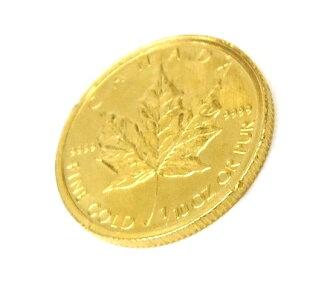 メープルリーフ金貨メイプルリーフ金貨1/10オンス1/10oz2004年3.1g【中古】(47506)