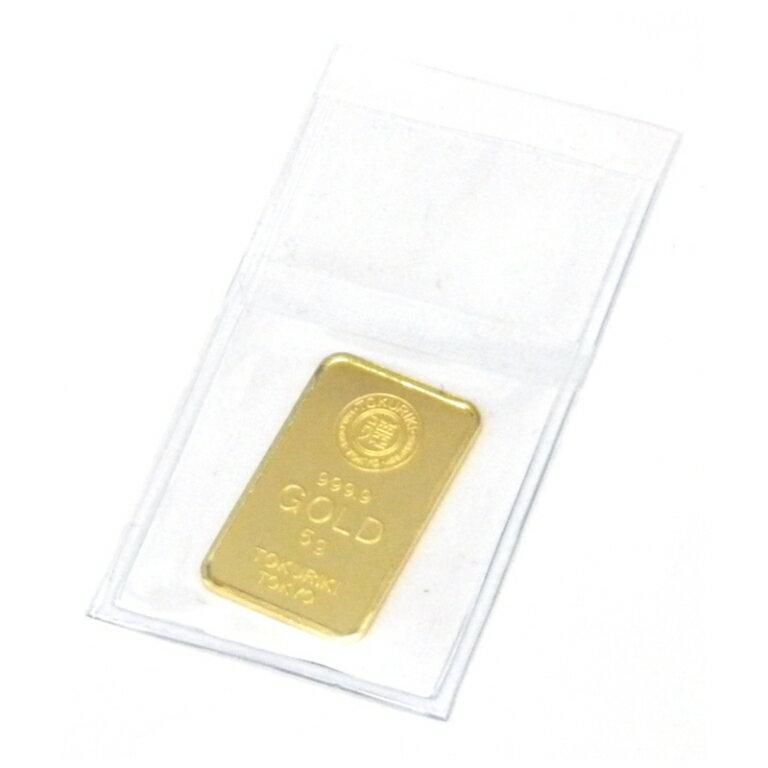 徳力本店 純金 インゴット ゴールドバー 24金 /ゴールド/K24 5g(45567)