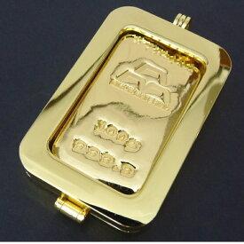 日本マテリアル 純金 インゴット 100g 24金 ペンダントトップ 枠脱着可能 新品 ゴールドバー ingot K24(50460)