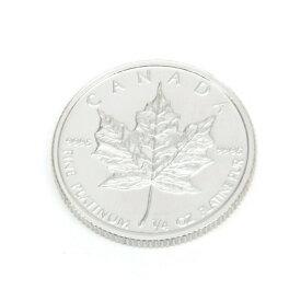メープルリーフプラチナコイン メイプルリーフプラチナコイン 1/4オンス 1/4oz 1992年 プラチナ白金貨 Pt(54947)