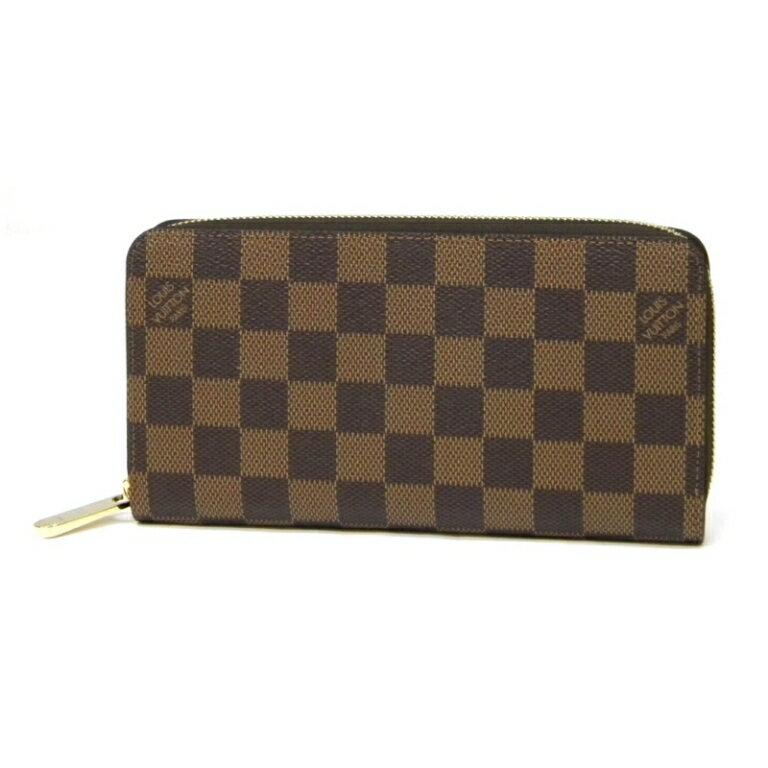 【新品】ルイヴィトン 長財布 LOUIS VUITTON ジッピーウォレット 新モデル ダミエ カードポケット12枚 N41661 ヴィトン 財布(35463)