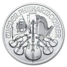 【エントリーでポイントUP!】 銀貨 ウィーン銀貨 1オンス 2021年 クリアケース入り 1oz オーストリア造幣局発行 銀貨 Silver(55515)