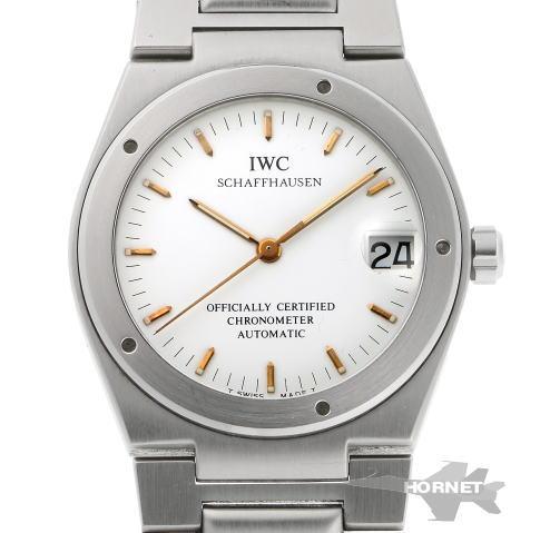 IWC インターナショナルウォッチ インヂュニア オートマチック 3521 ホワイト文字盤 SS 【中古】【時計】 1900019