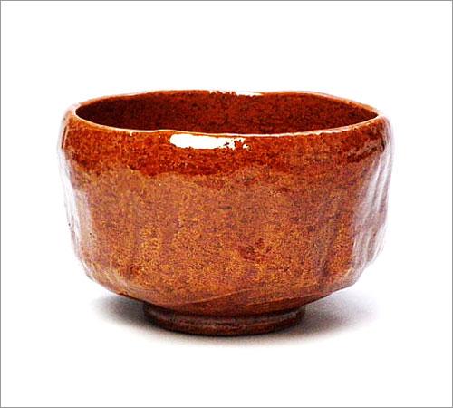 【茶道具 抹茶碗】野点茶碗 飴楽 佐々木松楽作