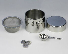 茶道具/抹茶ふるい/抹茶漉し 近藤さんの茶ふるい缶 (ミニ)