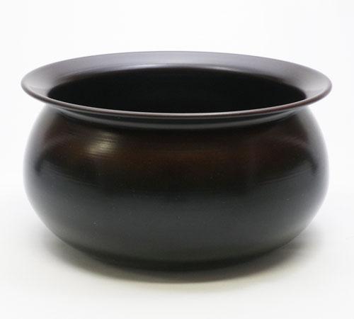 【茶道具 建水】腰黒建水