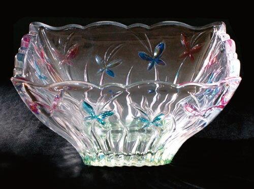 【茶道具 菓子器】ガラス大鉢