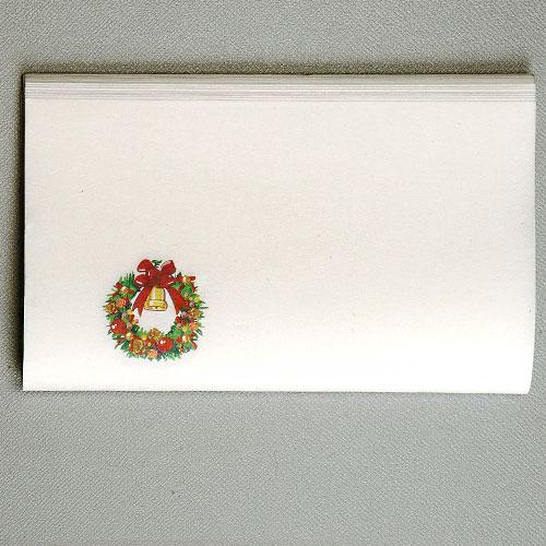 【茶道具 新春・干支】クリスマス懐紙 リース