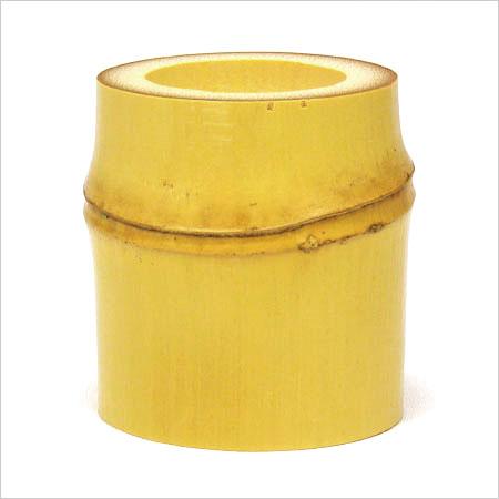 【茶道具 蓋置】白竹蓋置 炉用 並