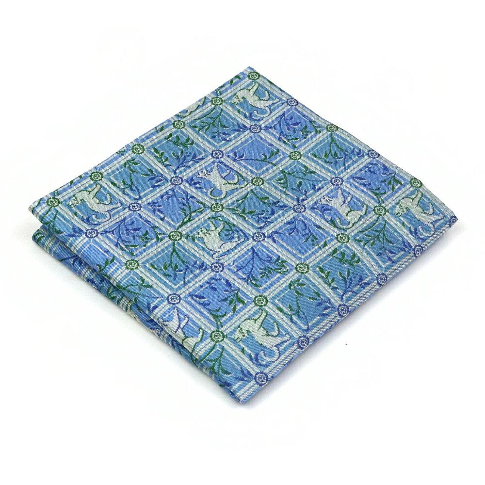 【茶道具 出帛紗/出袱紗】出帛紗 チョーカーの猫 龍村美術織物 正絹
