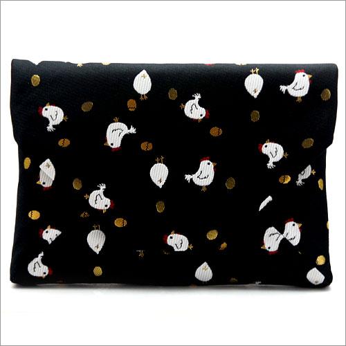 【茶道具 和装小物・バッグ】お稽古用 数寄屋袋(干支柄)和風バッグインバッグとして 和装 着物 浴衣のバッグ 小物入れ