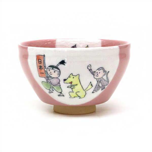 【茶道具 抹茶碗】小茶碗 桃太郎 忠泉作