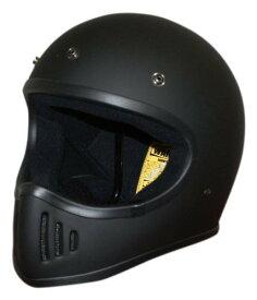 【DAMMTRAX[ダムトラックス]】 ザ ブラスター マットブラック 黒 バイク用 ヘルメット