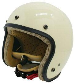 【DAMMTRAX[ダムトラックス]】 JET-D ジェットディー パールアイボリー メンズ 男性用 バイク用 ヘルメット