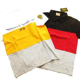 vanson バンソン半袖ポロシャツ 黒、白、黄、サイズM〜XL;P979- メンズ ポロ 送料無料